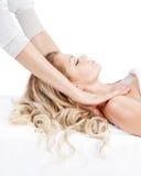 Salón de Massage.Spa. Imagen de archivo