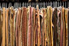 Salón de muestras de la materia textil imagen de archivo libre de regalías