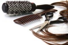 Salón de pelo Imagen de archivo libre de regalías