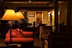 Salón de relajación reservado del hotel Foto de archivo libre de regalías