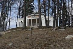 Salón de té de Bukowiec/templo de Athena fotos de archivo