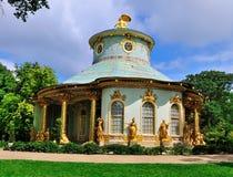Salón de té de los lomos, Sanssouci, Potsdam fotos de archivo