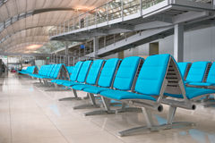 Salón del aeropuerto imagenes de archivo