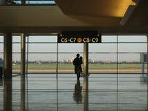 Salón del aeropuerto Fotografía de archivo libre de regalías