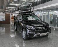 Salón del automóvil 2013 de Stolichnoe en Kiev imagen de archivo