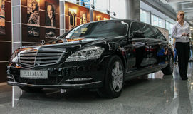 Salón del automóvil 2013 de Stolichnoe en Kiev Fotografía de archivo libre de regalías