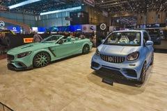 Salón del automóvil internacional 2019 de Ginebra imagen de archivo
