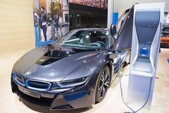 Salón del automóvil internacional norteamericano 2015 Foto de archivo libre de regalías