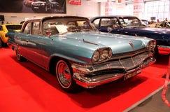 Salón del automóvil retro y de Exotica Fotografía de archivo