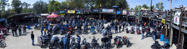 Salón del caballo de hierro - semana de la bici de Daytona Imagen de archivo libre de regalías