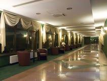 Salón del hotel Imágenes de archivo libres de regalías