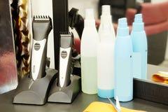 Salón del peluquero Imagen de archivo