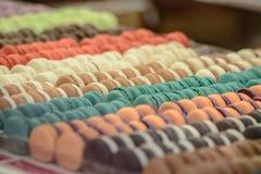 Salón du chocolat de la demostración del chocolate Imágenes de archivo libres de regalías
