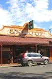 Salón en Alice Springs, Territorio del Norte, Australia Imagen de archivo