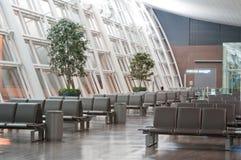 Salón en el aeropuerto fotos de archivo libres de regalías