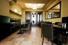 Salón en el restaurante Fotos de archivo