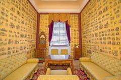 Salón en el santo Antón del palacio Imagen de archivo libre de regalías