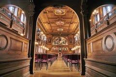 Salón en la universidad de Heidelberg Fotografía de archivo