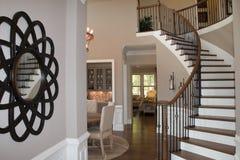 Salón/escaleras Imagen de archivo