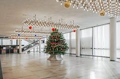 Salón festivo del ` s del Año Nuevo Foto de archivo libre de regalías