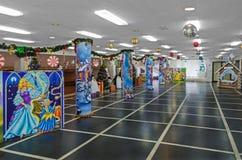 Salón festivo del ` s del Año Nuevo Fotografía de archivo libre de regalías