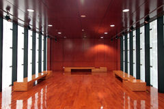 Salón interior Fotografía de archivo