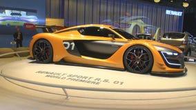 Salón internacional del automóvil de Moscú almacen de video