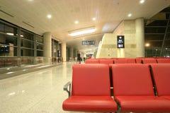 Salón que espera del aeropuerto fotos de archivo