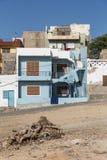 Sal azul Rei Boa Vista de la construcción residencial imagen de archivo libre de regalías