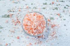 Sal cor-de-rosa Himalayan Imagens de Stock