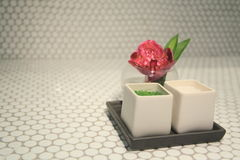 Sal de baño Imagen de archivo