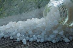 Sal de baño del mar Olor de la frescura de una lluvia Imagen de archivo