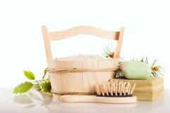 Sal de banho aromático Imagem de Stock Royalty Free