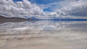 Sal de Uyuni plana - Bolivia Fotografía de archivo libre de regalías