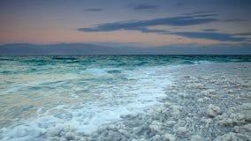 Sal del mar muerto. Israel almacen de video