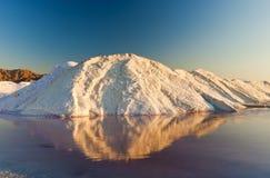Sal do mar inoperante fotografia de stock