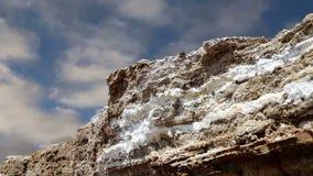 Sal do Mar Morto em Jordânia, Médio Oriente vídeos de arquivo