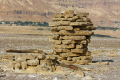 Sal do Mar Morto israel Fotografia de Stock Royalty Free