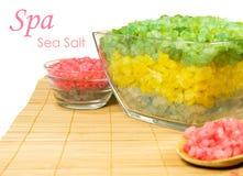 Sal do mar na esteira Imagens de Stock