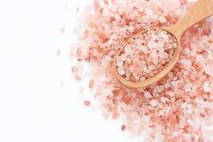 Sal do rosa de Himalaya imagens de stock royalty free