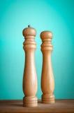 Sal e pimenta Imagem de Stock Royalty Free