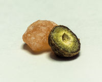 Sal e pimenta macro Imagem de Stock