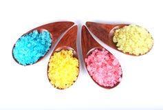 Sal mineral natural aromática Fotografía de archivo libre de regalías