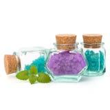 Sal mineral natural aromática Foto de archivo