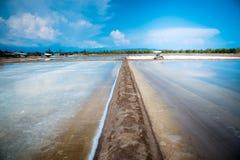 Sal salina del mar Fotografía de archivo