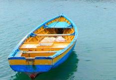 Sal Santa Maria Кабо-Верде шлюпки стоковое изображение rf