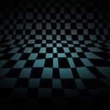 Sala abstrata da xadrez Fotografia de Stock