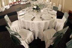 sala balowa stół Obrazy Royalty Free