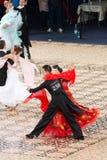 Sala balowa Standard - Taniec Ćwiczy 2012 Obrazy Stock