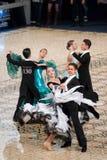 Sala balowa Standard - Taniec Ćwiczy 2012 Fotografia Stock